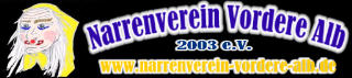 Banner Narrenverein Vordere Alb 2003 e.V.